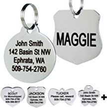 Best dog and cat tags Reviews