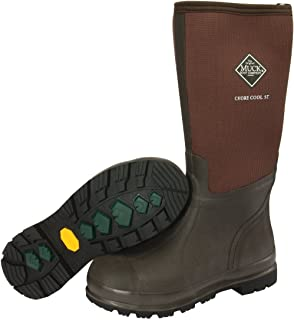 s Chore Cool Warm Weather Tall Steel Toe Men's Rubber Work Boot