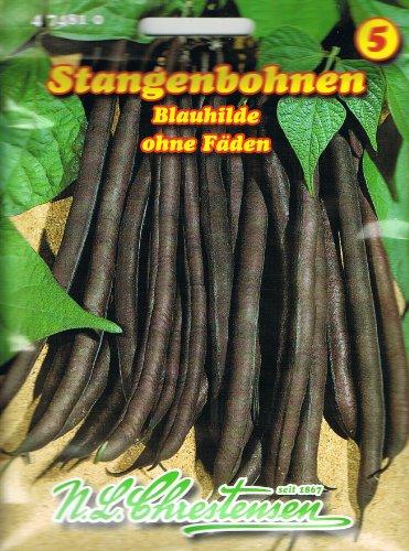 Stangenbohne Blauhilde (Portion)