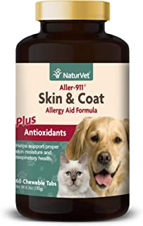 Suppo Aller-911 Allergy Aid Plus Antioxidants Naturvet 70 Soft Chews