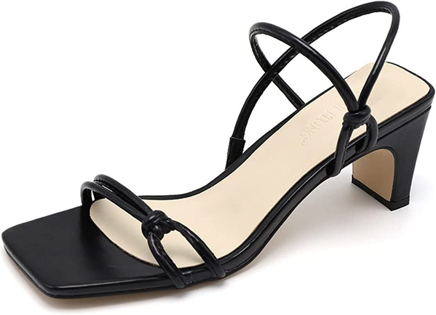 Backless Slide Sandal for Women High Slip Popular product Slim Heels A Discount is also underway Chunky on