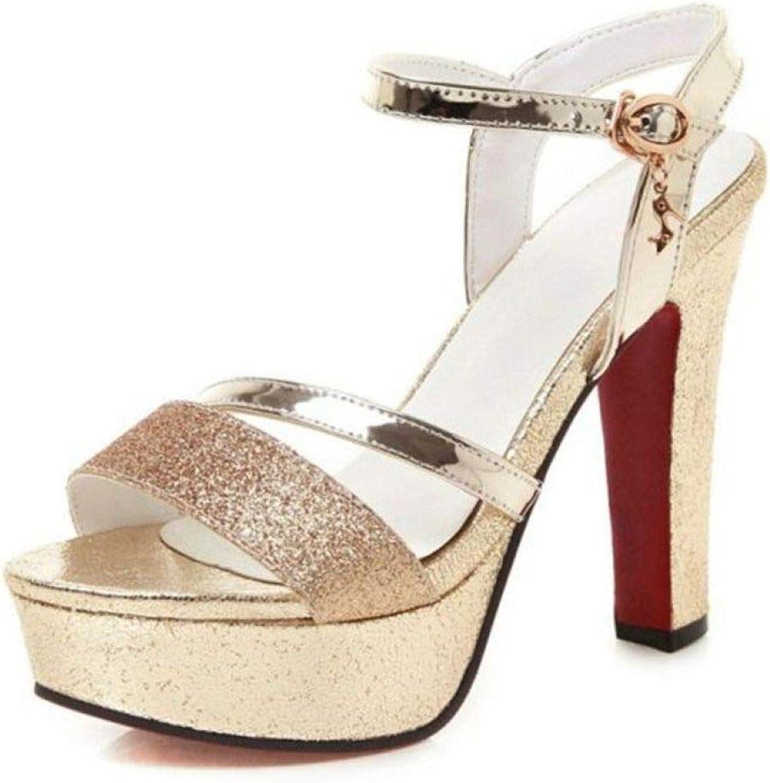 Kvinnors plattform hög klack Sandals Crystal Bling Sexiga kvinnor kvinnor kvinnor Party sommar Wear Elegant Strap skor  nya produkter nyhet objekt