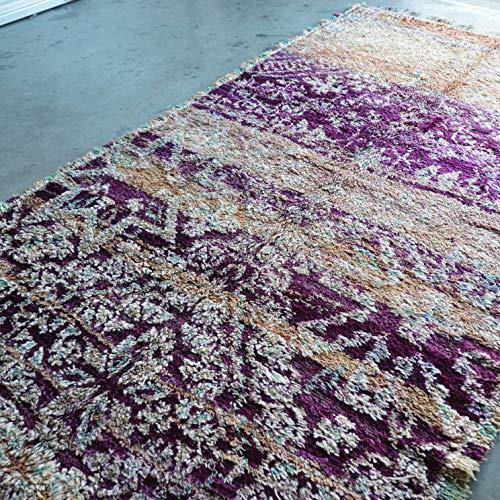 Marokkaanse Beni Mguild Berber tapijt Oosterse tapijt - 100% handgeweven natuurlijk tribal wol tapijt - diamant vormen - 360 x 190