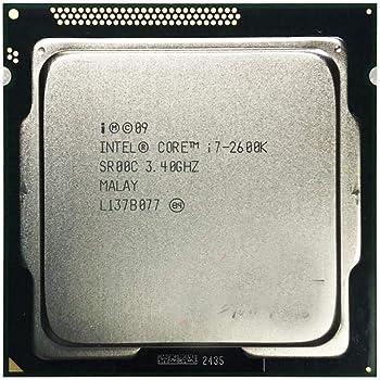 BX80623I72600K Intel Core i7-2600K Quad-Core Processor 3.4 Ghz 8 MB Cache LGA 1155 Renewed