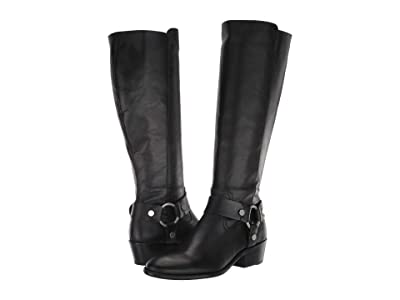 Frye Carson Harness Tall (Black Extended 1) Women