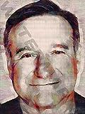 Posters-Galore Robin Williams Comedian Director Art Print