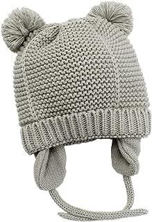Baby Hat with Cute Earflap Warm Fleece Lining 0-36 Months Winter