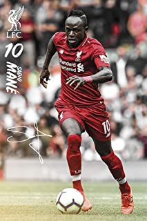 GB Eye Limited Liverpool FC Sadio Mane 2019 Soccer Football Sports Cool Wall Decor Art Print Poster 24x36