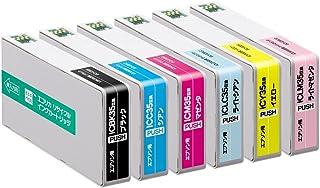 【Amazon.co.jp限定】エコリカ エプソン(EPSON)対応 リサイクル インクカートリッジ 6色パック IC6CL35 EC-IC6CL35A (FFP・封筒パッケージ) (目印:色エンピツ)