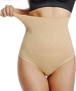 ayushicreationa Myynti® Women's Blended 4-in-1 Tummy, Body Bracer Back, Thighs, Hips Shaper High Waist Tummy & Thigh Shap...