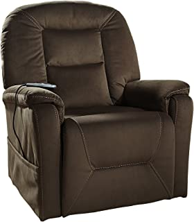 Ashley Power Lift Recliner in Coffee