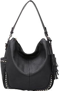 Amazon.com  Faux Leather - Hobo Bags   Handbags   Wallets  Clothing ... 87663d0e0792c