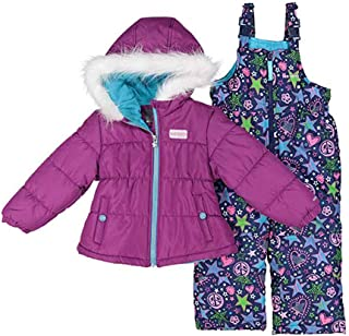 Girls' 2-Piece Heavyweight Snowsuit