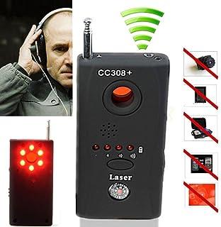 Detector de micrófonos espías con señal de radiofrecuencia, rastreador de lentes de cámaras