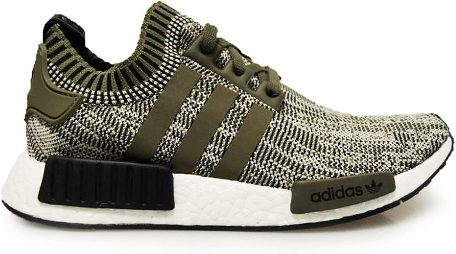 Adidas Mens NMD_R1 Primeknit Sesame Branch-UK 8.5  EUR 42 2 3  US 9