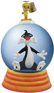 WL 85mm Globe Sylvester Seeing Stars with Tweety Bird Figurine Statue