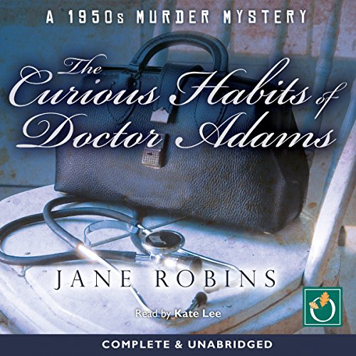 The Curious Habits of Doctor Adams audiobook cover art