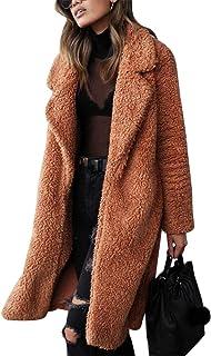 معطف حريمي طويل الأكمام من Halfword معطف كبير الحجم
