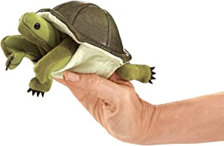 Folkmanis Mini Turtle Finger Puppet