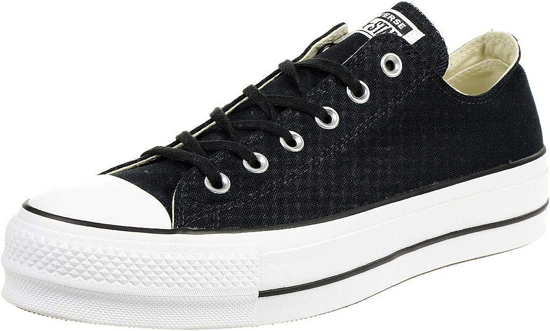 Converse 560250C Black Nero Scarpe Basse Donna Sneakers Platform ...