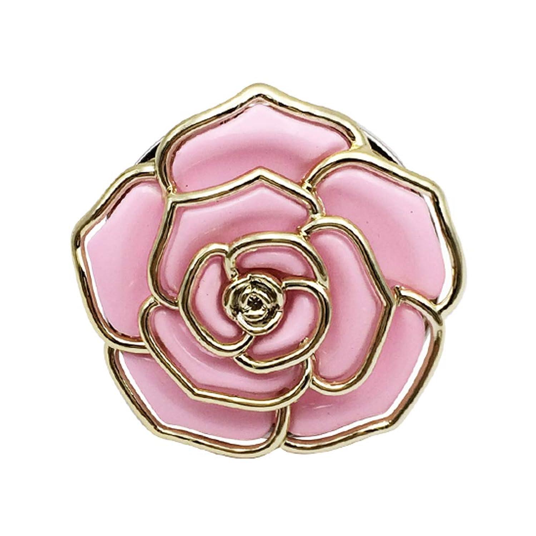 Bycws折りたたみインスタントハンドバッグ財布ハンガーフック用テーブルローズテーマフックバレンタインデーギフト,Pink