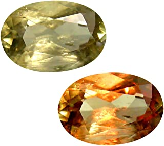 Deluxe Gems 2.57 ct Oval Cut (10 x 7 mm) Unheated/Untreated Turkish Color Change Diaspore Natural Loose Gemstone
