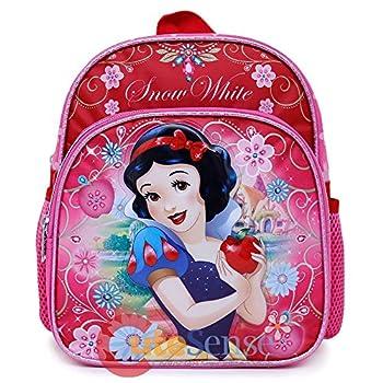 2018 Princess Snow White School Backpack 10  Toddler Girls Bag