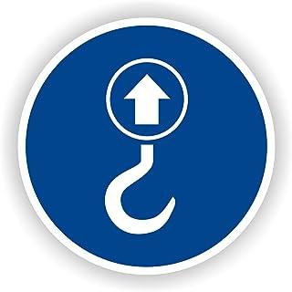 Hebepunkt / Gebotszeichen / GE-55 / Sicherheitszeichen / Piktogramme / DIN EN ISO 7010 5cm
