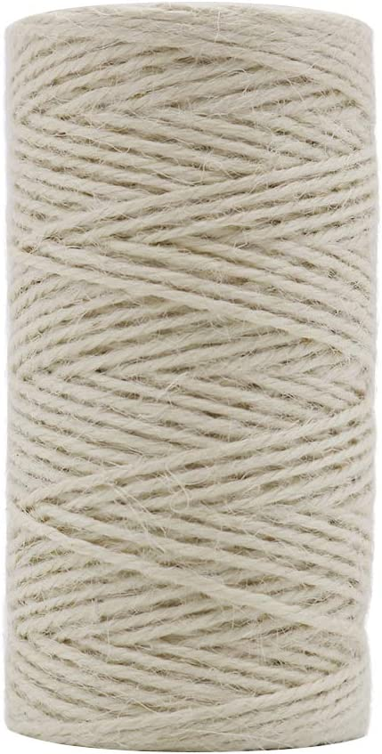 Tenn Well Jute Twine String 335 P 1 online shop year warranty Rope Feet 2mm Gift