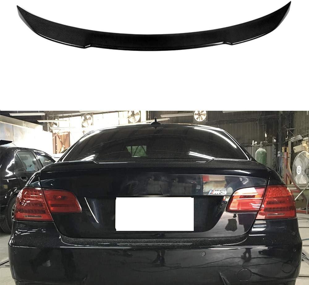 Mosion Auto Carbon Max 71% specialty shop OFF Fiber Rear Trunk Spoiler 328 BMW 320i E92 for