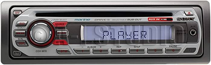 Sony CDXM10 Marine CD Receiver Slot (Discontinued by Manufacturer)