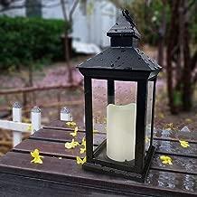 glass candle lantern