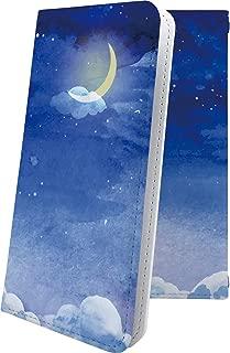 ZenFone5Q ZC600KL ケース 手帳型 月 ムーン 星 星柄 星空 宇宙 夜空 星型 ゼンフォン5q ゼンフォン5 手帳型ケース かわいい 可愛い kawaii lively zenfone 5q 5 q おしゃれ