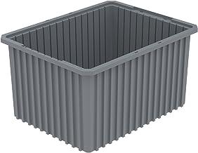 Akro-Mils 33222GRY Akro-Grid Ayrılabilir Kutu (3 Paket), Gri