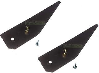 2 cuchillas para cortacésped Al-Ko Robolinho EFCO BRILL OLEO Mac SOLO / 440434