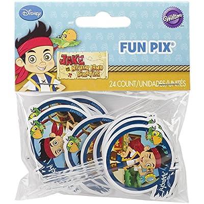 Wilton 2113-2375 Disney Jake and The Never Land Pirates Fun Pix Cupcake Decor