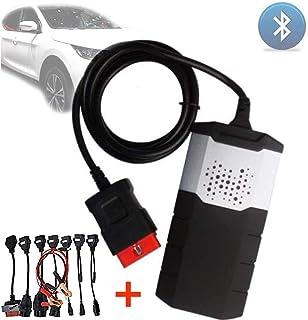 Cable de diagn/óstico del coche KKmoon Cables de coche juego completo 8 piezas adaptador de conector de diagn/óstico de coche OBD2 interfaz cables de coche para TCS CDP PLUS Multidiag Pro