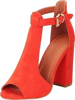 Best orange bootie heels Reviews