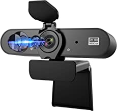 Webcam with Microphone, Aufixy 2K HD Webcam with Privacy Protection Streaming USB Webcams Camera for PC Video Conferencing...