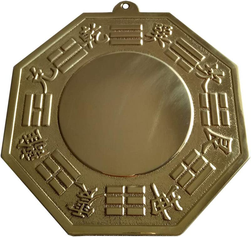 FengShuiGe Chinese Sale Special Price Feng Shui Wudang Brass Bagua Convex Mountain National uniform free shipping