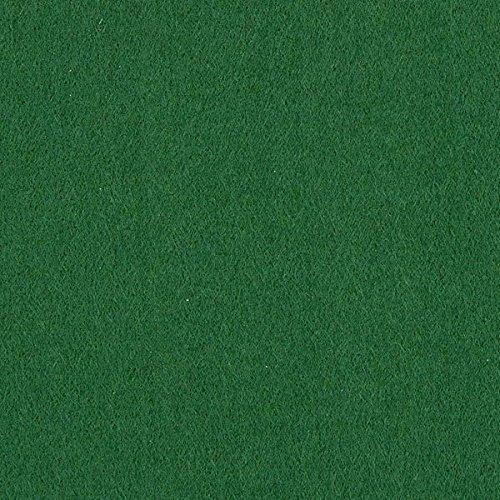 Filz 100cm / 3mm stark – dunkelgrün — Meterware ab 0,5m — zum Nähen von Taschen, Tischdekoration und Homeaccessoires