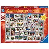 Ravensburger Christmas Wishes 1000 Piece Jigsaw Puzzle for Adults – Limited Edition Holiday Puzzle - Every Piece is Unique, Softclick Technology Means Pieces Fit Together Perfectly