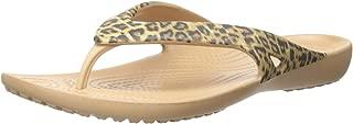 Crocs Womens Kadee II Leopard Print Flip Kadee Ii Leopard Print Flip
