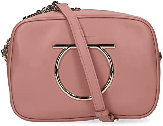 Luxury Fashion | Salvatore Ferragamo Womens 694643 Pink Shoulder Bag | Fall Winter 19