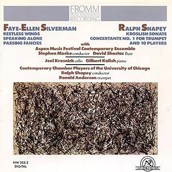 Ralph Shapey/Faye Ellen Silverman