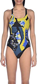 arena W Swim Pro Back One Piece Bañador Deportivo Mujer Paintings