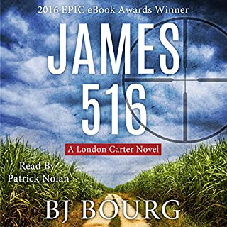 James 516 audiobook cover art