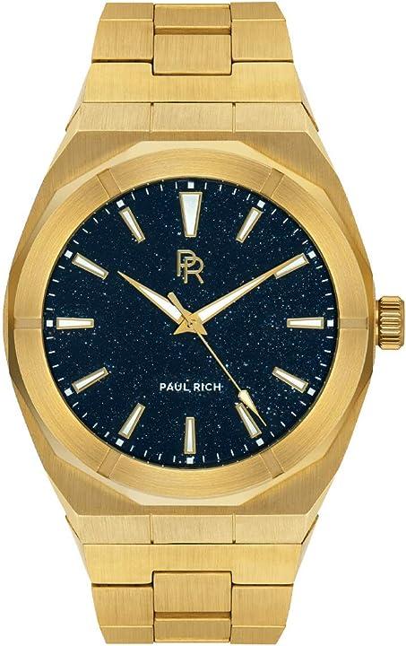 orologio paul rich star dust - oro pr88goldsteel