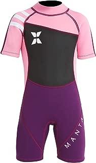 DIVE & SAIL Kids 2.5mm Warm Wetsuit One Piece UV Protection Shorty Suit