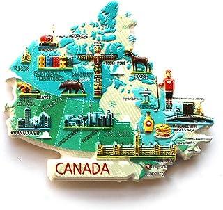 GTNINE Country Map Fridge Magnets Refrigerator Magnets Office Magnets for Funny Decor Home Decor Car Decor Refrigerator De...